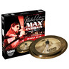 Sabian HH bajo Max Stax Cymbal Pack, 12'' China Kang, 14'' Crash