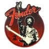 Fender Hendrix Friedenszeichen Magnet