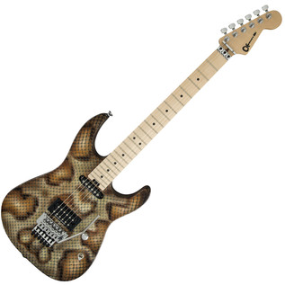 Charvel Warren DeMartini Signature Electric Guitar, Snake Pro Mod