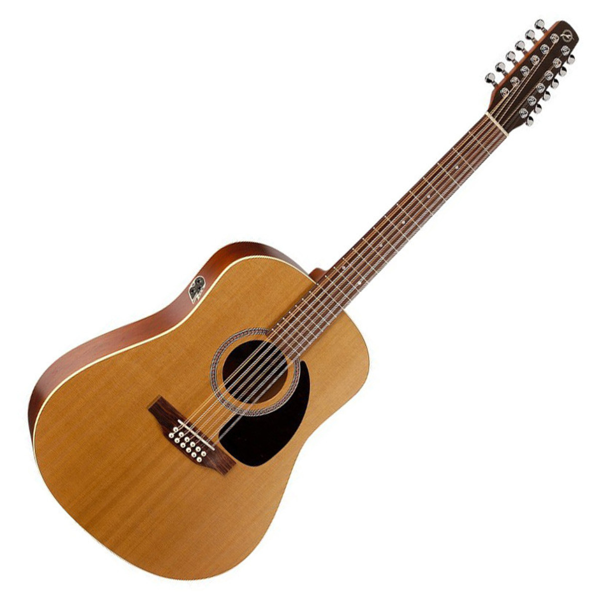 seagull coastline s12 cedar qi 12 string electro acoustic guitar at. Black Bedroom Furniture Sets. Home Design Ideas