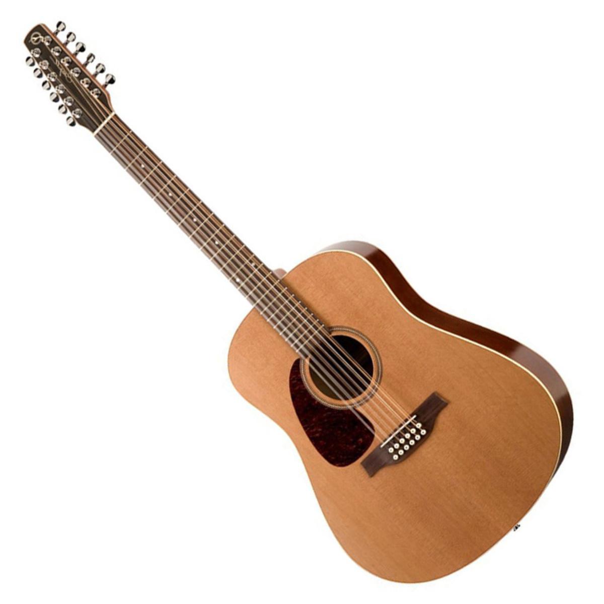 seagull coastline s12 cedar left 12 string acoustic guitar at. Black Bedroom Furniture Sets. Home Design Ideas