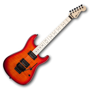 Charvel San Dimas Style 1 HH Electric Guitar, Red Burst