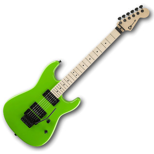 Charvel San Dimas Style 1 HH Electric Guitar, Slime Green