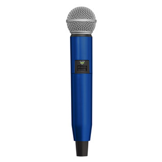 Shure GLX-D SM58/BETA58A Handle Components (Blue)
