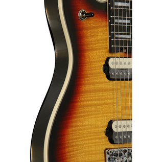 EVH Wolfgang USA 5A Flamed Maple Electric Guitar, 3-Tone Burst