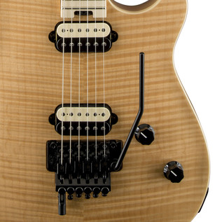 EVH Wolfgang Special Flamed Maple Guitar, MN Natural