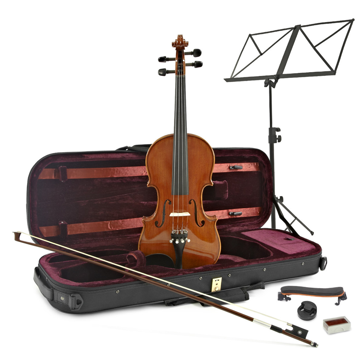 Image of Archer Swift Intermediate Violin + Player Pack by Gear4music