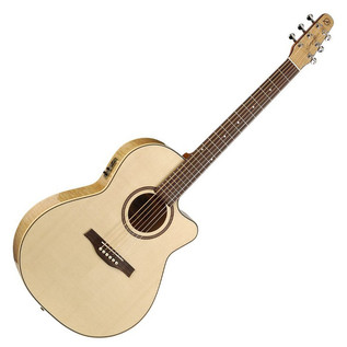 Seagull Performer CW Folk QI Electro Acoustic Guitar with Bag