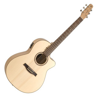 Seagull Natural Elements CW Folk Electro Acoustic Guitar, Amber Trail