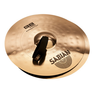 Sabian B8 Pro 14'' Marching Band Cymbals, Brilliant Finish