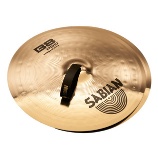 Sabian B8 Pro 18'' Marching Band Cymbals, Brilliant Finish