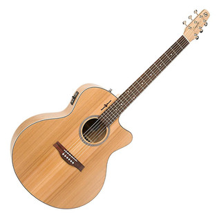 Seagull Natural Elements Mini Jumbo Electro Acoustic, Natural Cherry