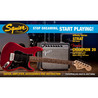 Squier Stop Dreaming, Start Playing Affinity Strat Pack, vermelho