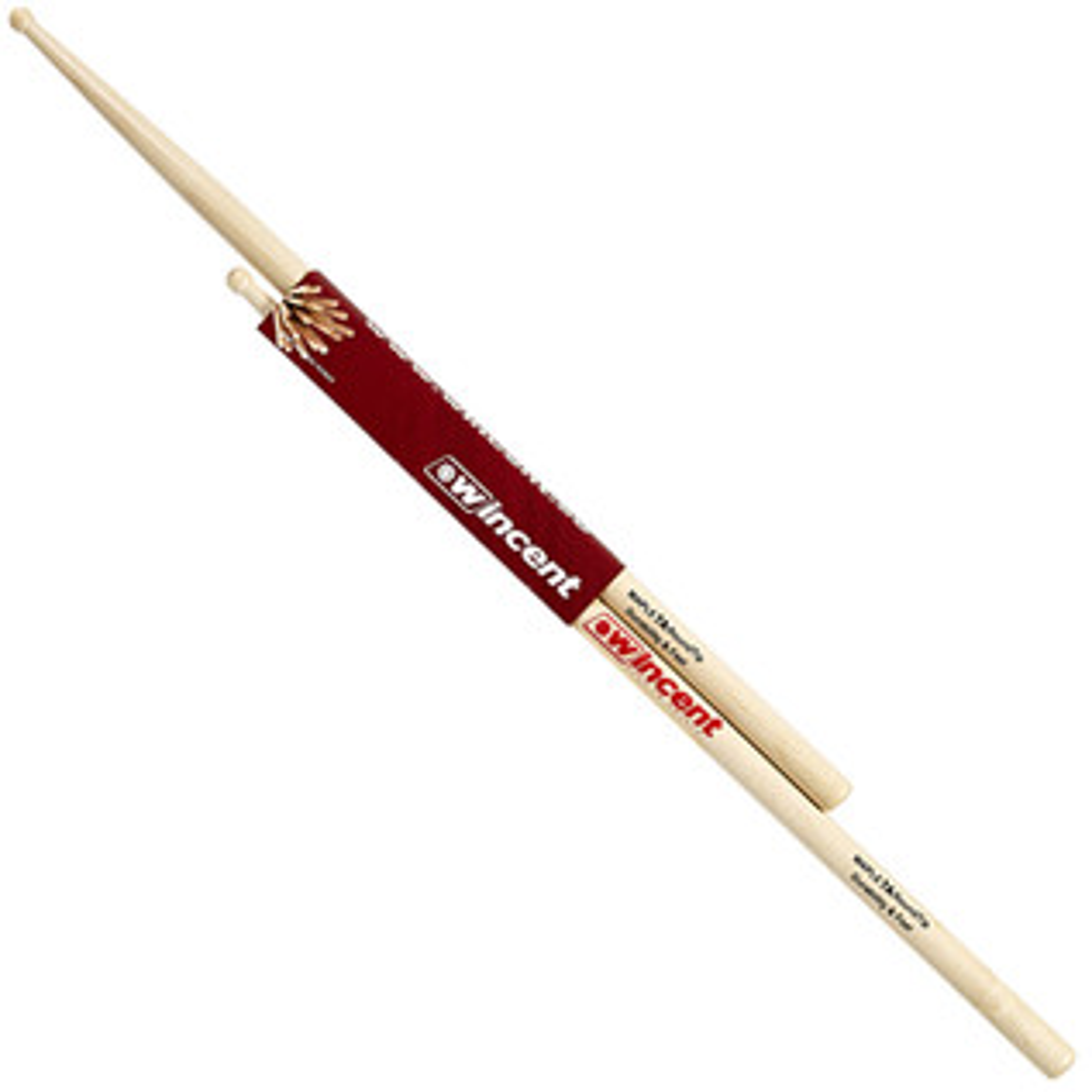 Wincent Maple 7A Round Tip Drumsticks