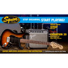 Squier Stop Dreaming, Start Playing Affinity Strat Pack, em dourado