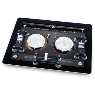 ION Scratch2GO DJ System for iPad