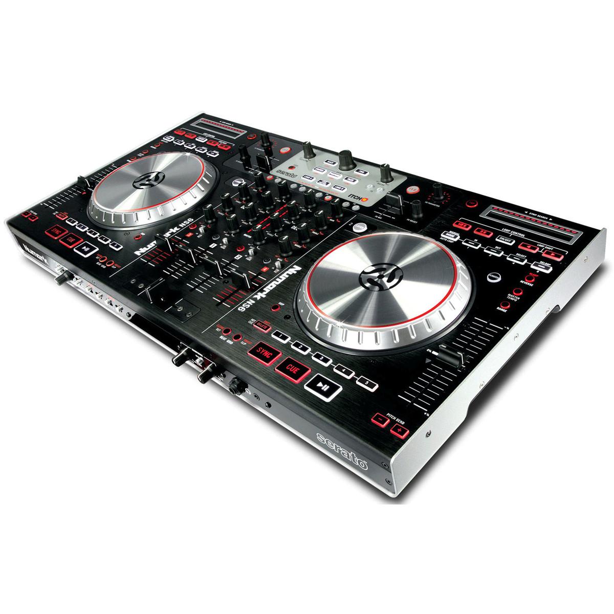 puis numark ns6 contr leur num rique de dj mixage. Black Bedroom Furniture Sets. Home Design Ideas