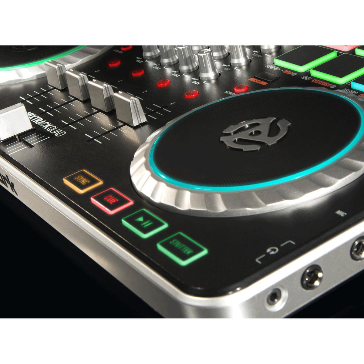 numark mixtrack quad controlador de dj prime loops pack gratis en. Black Bedroom Furniture Sets. Home Design Ideas