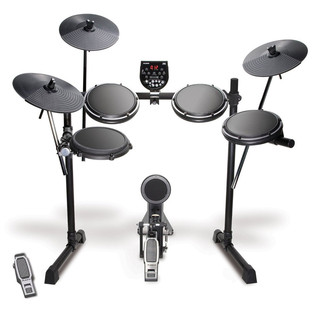 Alesis DM6 USB Electronic Drum Kit + Stool, Headphones, Sticks