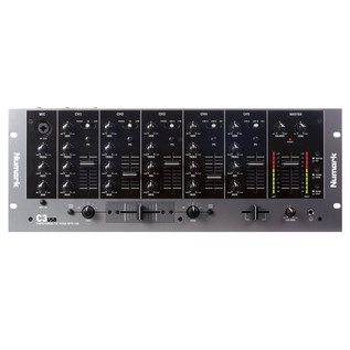 Numark C3USB 5 Channel Mobile DJ Rack Mixer With USB I/O