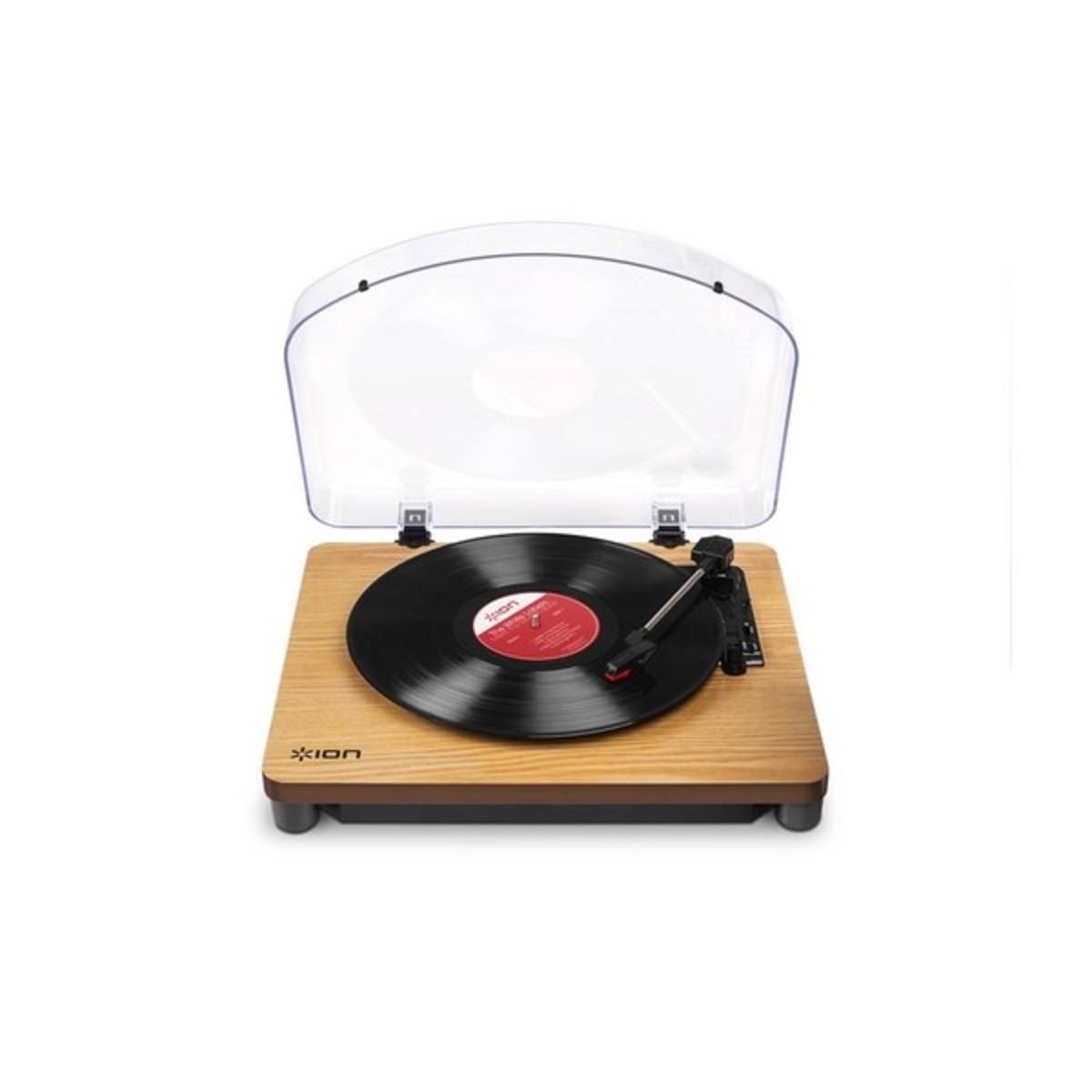 platine vinyle ion classic lp usb bois. Black Bedroom Furniture Sets. Home Design Ideas