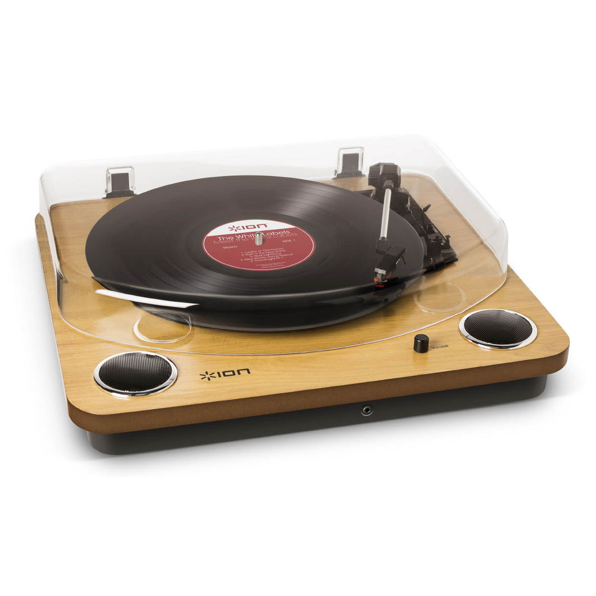 Image of ION Max LP USB Turntable with Integrated Speakers
