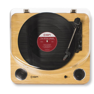 ION Max LP USB Turntable with Integrated Speakers  2