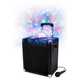 ION Block Party Live Portable Speaker with LED Light Show