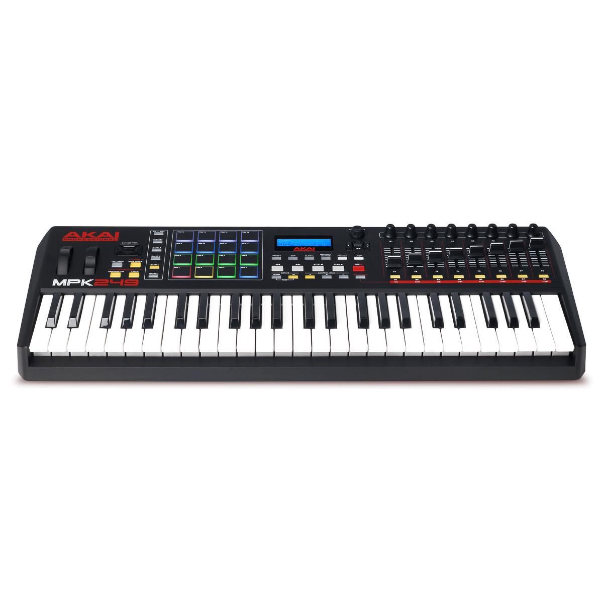 Akai MPK249 MIDI Controller Keyboard with FREE Bag