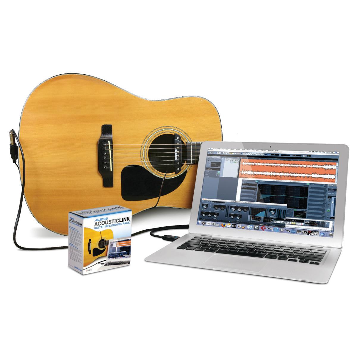 alesis acoustic link guitar recording pack at. Black Bedroom Furniture Sets. Home Design Ideas