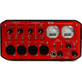 Akai EIE Audio/MIDI Interface with USB Hub, Red