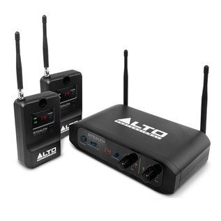 Alto Stealth Wireless 2-Channel Wireless Speaker System
