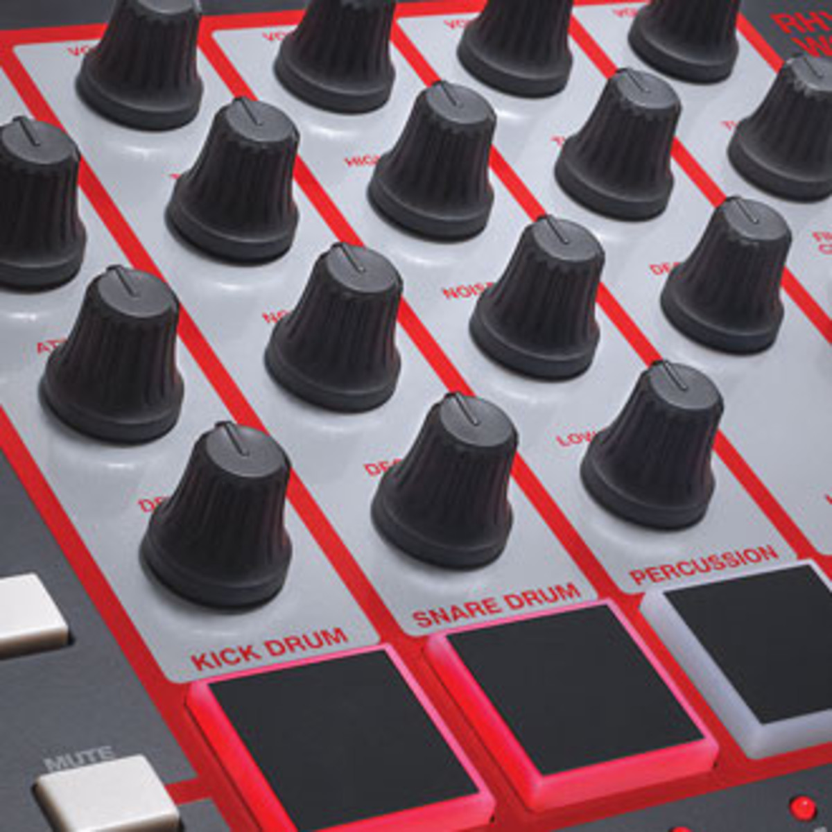 synth and drum machine