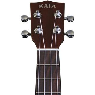 Kala KA-RES-CHR Chrome Plate Resonator Tenor Ukulele, Sunburst Satin