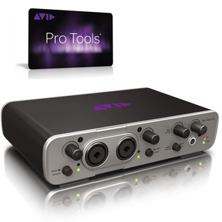 Avid Pro Tools 12 with FREE Fast Track Duo Audio Interface