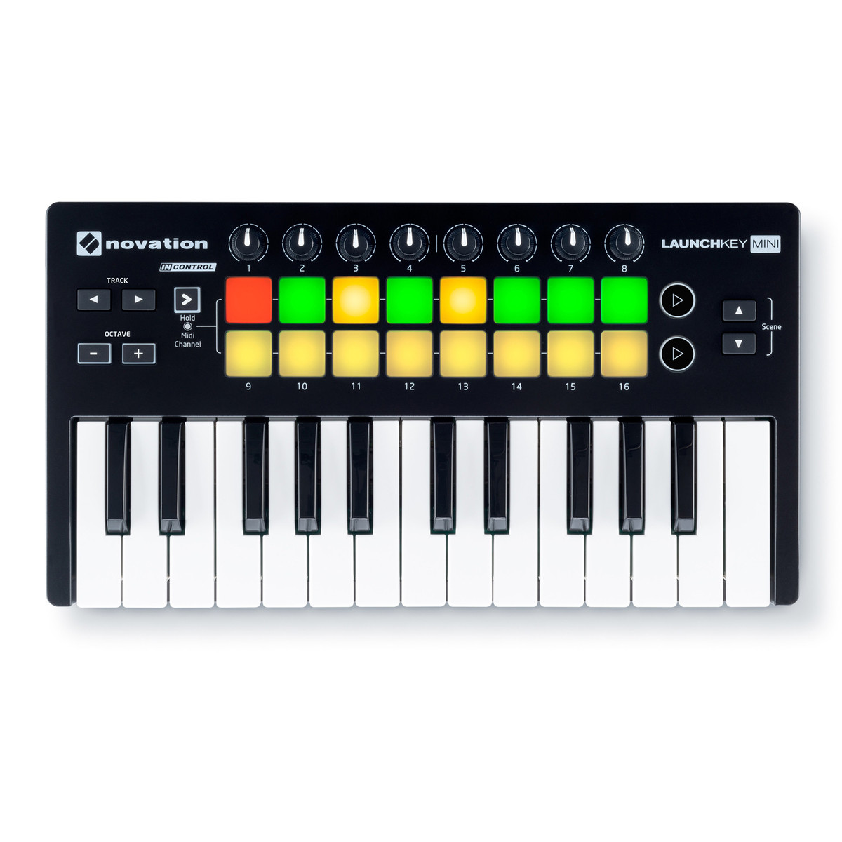 novation launchkey mini mk2 midi controller keyboard at. Black Bedroom Furniture Sets. Home Design Ideas