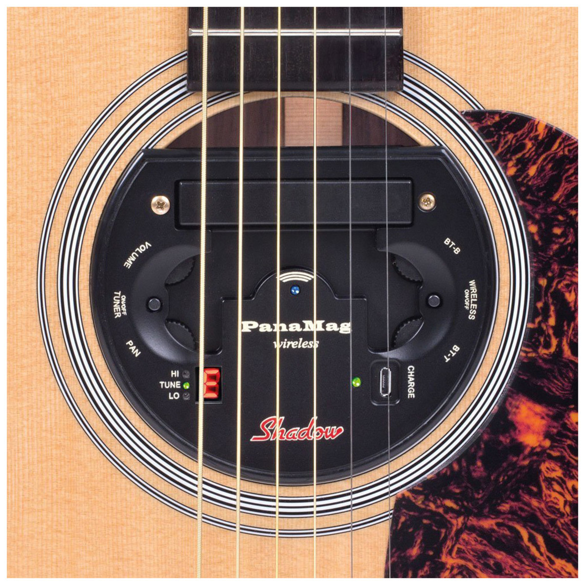 shadow sh panamag wireless stereo acoustic guitar pickup at. Black Bedroom Furniture Sets. Home Design Ideas