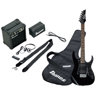 Ibanez IJRG200E Jumpstart Electric Guitar Pack, Black