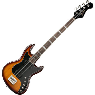 Hofner HCT 185 Long Scale Bass, Sunburst