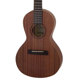 Aria ASA 18H Parlour Mini Acoustic Guitar, Natural