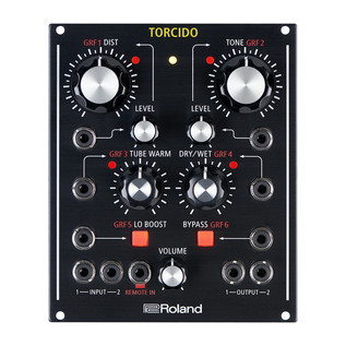 Roland Torcido Modular Distortion, Table-Top and Eurorack Module