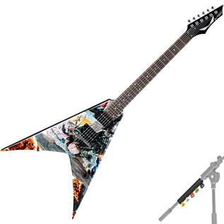 dean dave mustaine signature v electric guitar united abomination at. Black Bedroom Furniture Sets. Home Design Ideas