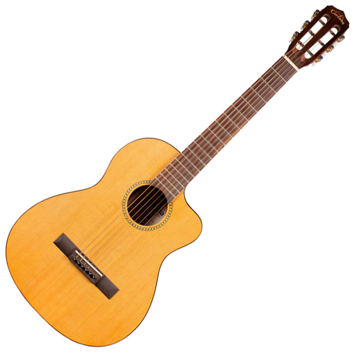 Image of Cordoba LP 1/2 Size Electro Acoustic Travel Guitar Steel String