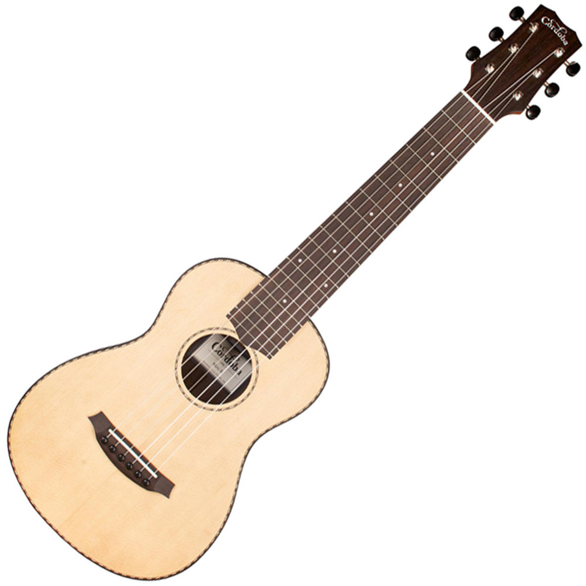 Image of Cordoba Mini R Acoustic Travel Guitar Spruce Top