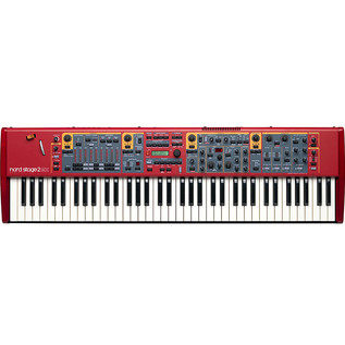 Nord Stage 2 EX Compact 73-Note Semi Weighted Keyboard