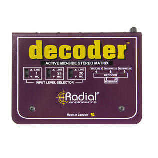 Radial Decoder Self Contained MS Interface