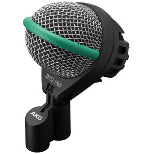 AKG D112 MKII Kick Drum Microphone with Flexible Mount