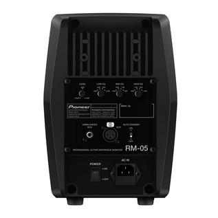 Pioneer RM-05 Professional Active Studio Monitor, Rear