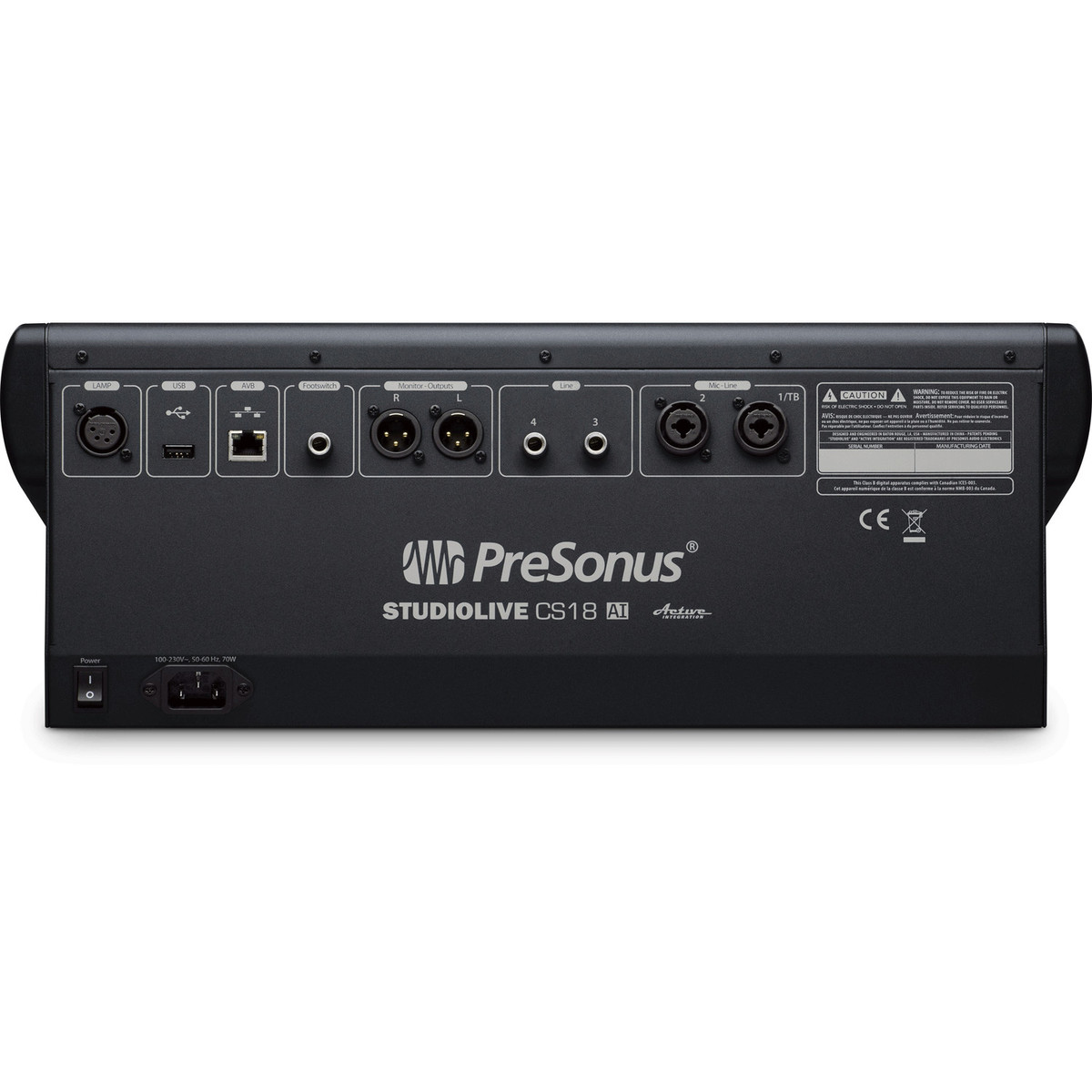 Presonus Cs18ai Control Surface For Studio One With