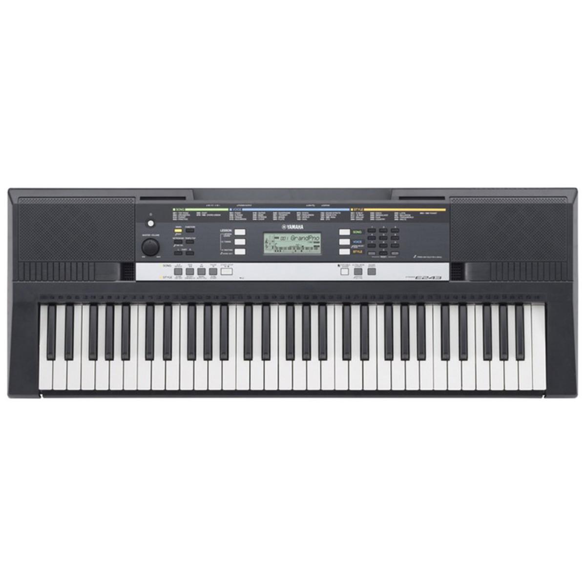 Yamaha psre243 portable keyboard ex demo at for Yamaha psr 190 manual